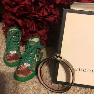 7341b0015 Gucci Shoes | Authentic Babykids Bengal Tiger Print Combo | Poshmark